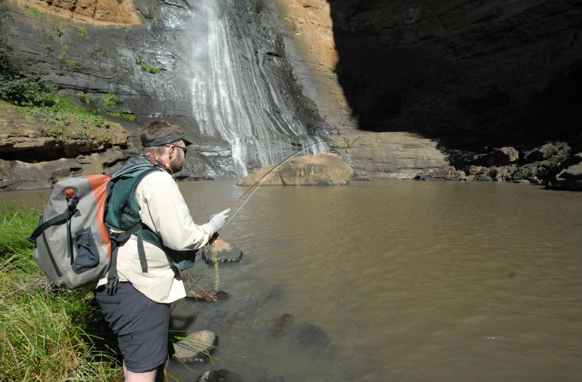 Fiskeri i vandkanten