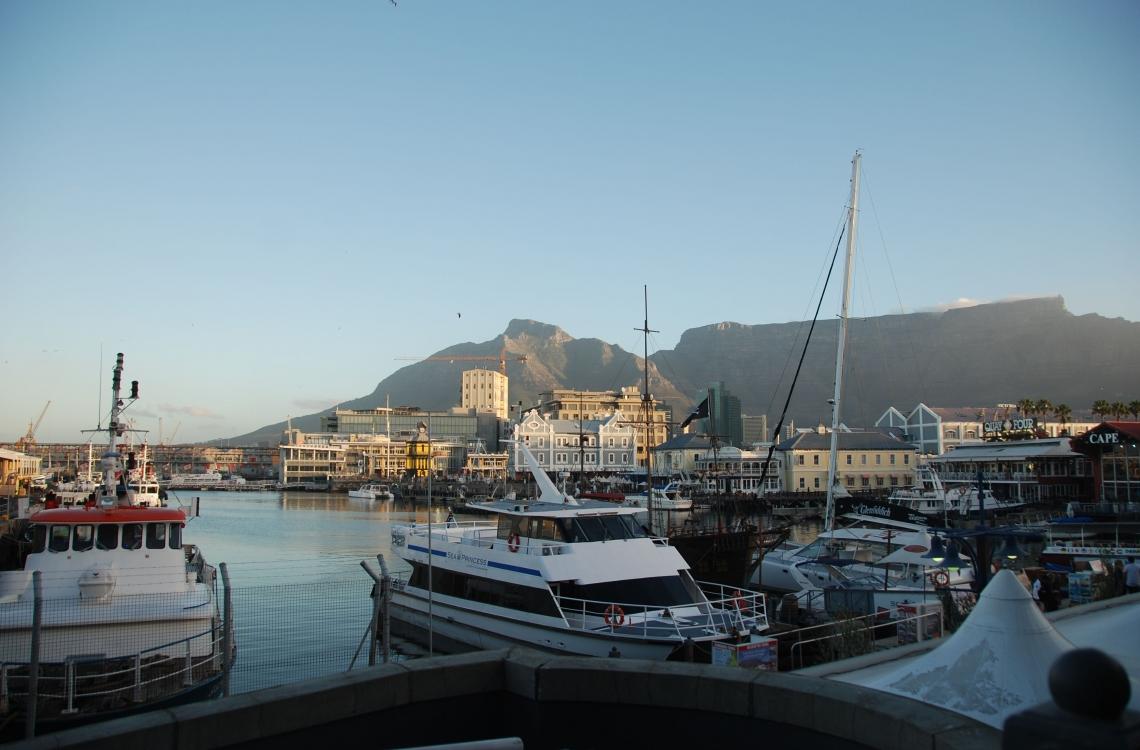Havnen i Sydafrika
