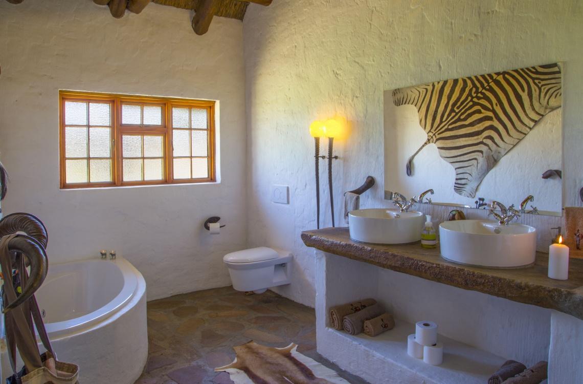 luksus badefaciliteter med eget spabad
