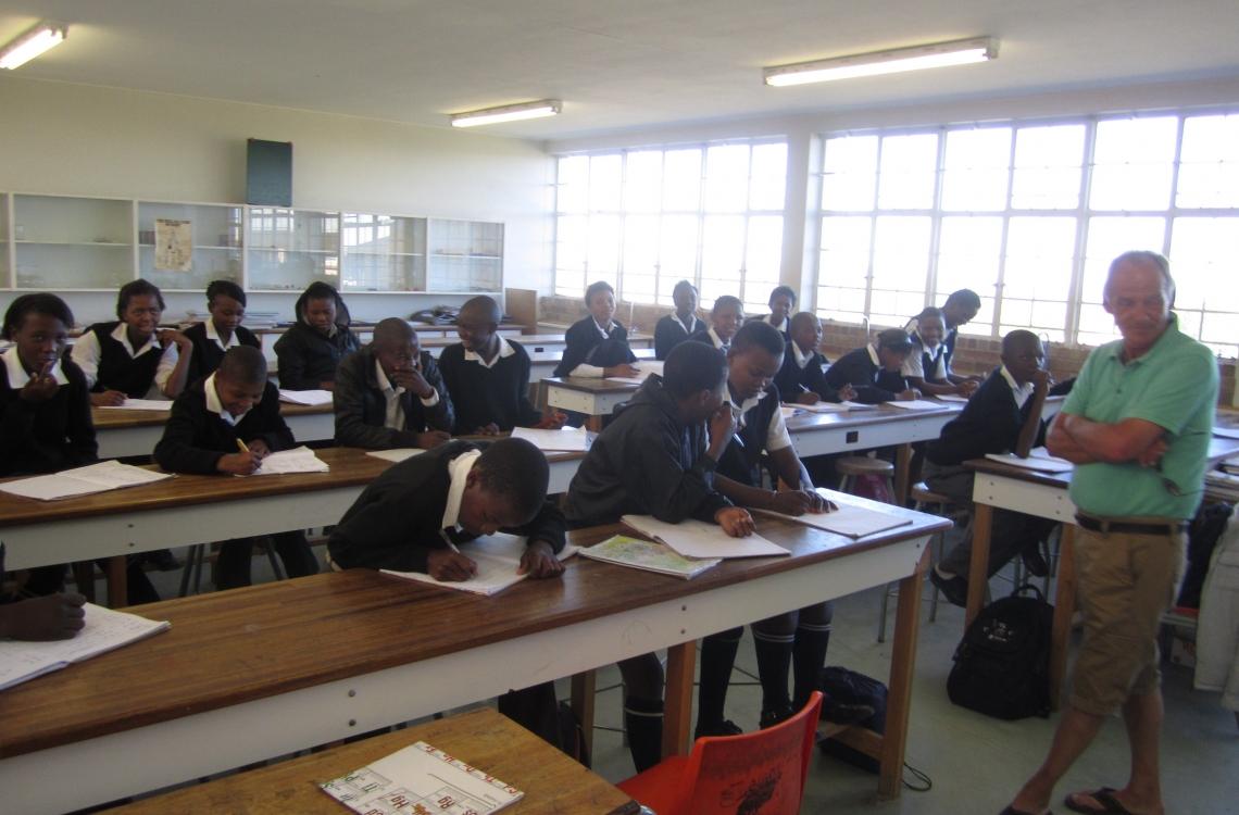 En af Sydafrikas skoler