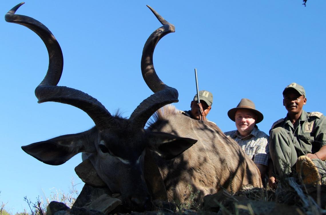 Jagt på stor flot kudu